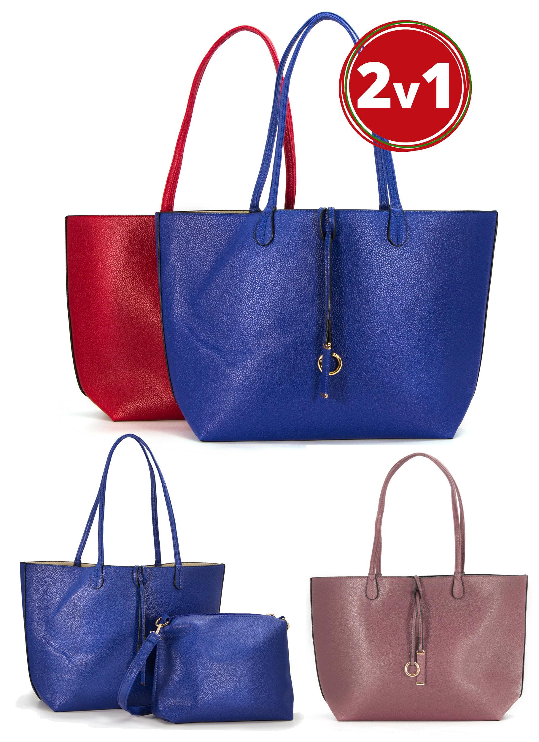 Fashion Icon Dámská kabelka Simple Style 2v1 přes rameno i crossbody ... 2c0d8ebed01