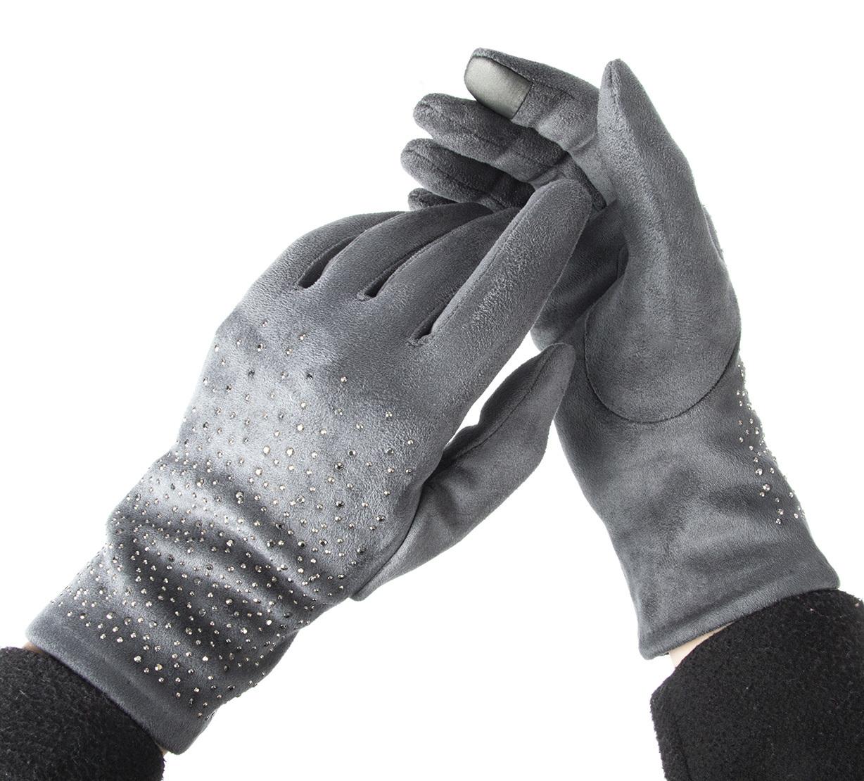 Dámské elegantní rukavice s kamínky BW024 ZR0013  277d1bc149