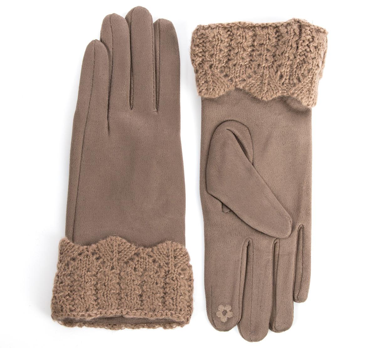 079dbd97677 Dámské elegantní rukavice pletená krajka BW011